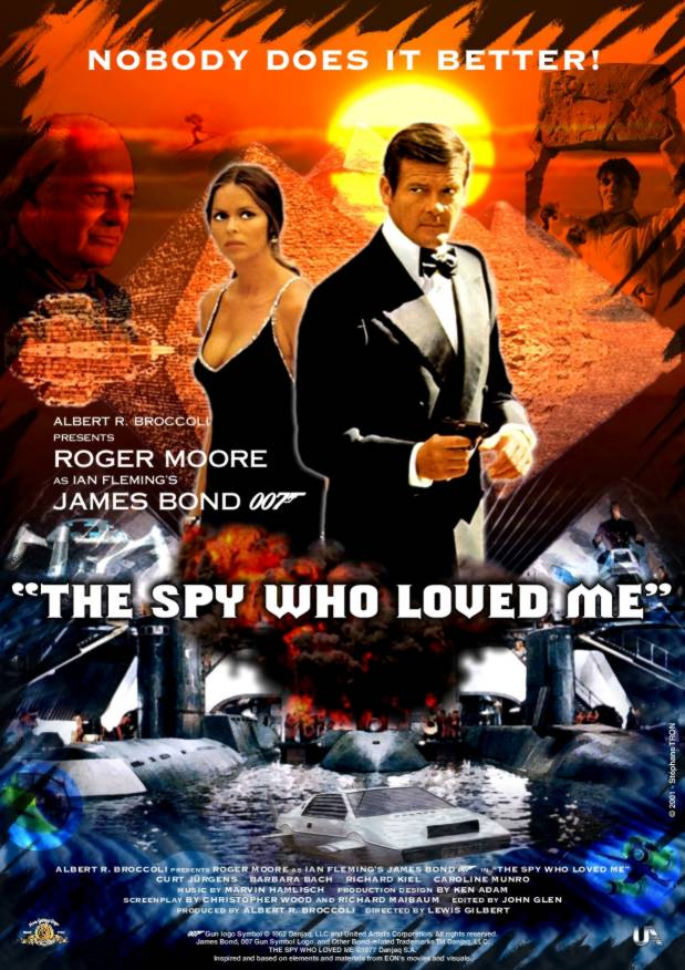 the spy who loved me the 10th film in the james bond series ventures